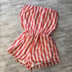 Medium striped romper